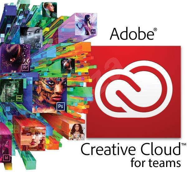 Adobe Creative Cloud for teams All Apps MP ML (incl. CZ) ( 1 Month) (Electronic License) - Graphics Software