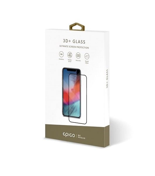 EPICO 3D + GLASS iPhone XS Max / X Max - Black - Glass protector