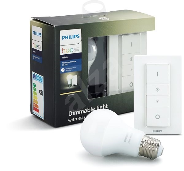 Philips Hue Wireless Dimming Kit + Philips Hue White 9W - Dimmers