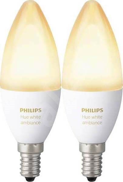 Philips Hue White Ambiance 6W E14 set 2pcs - LED bulb