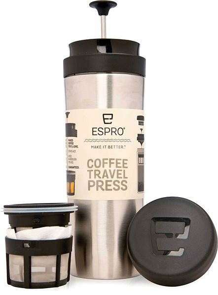 ESPRO Travel Press Brushed Stainless - French press