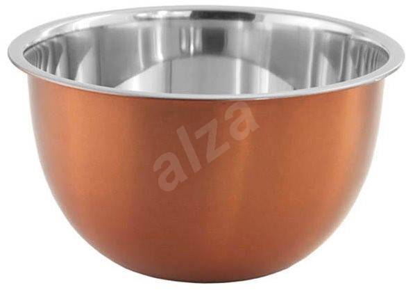 FACKELMANN Bowl 1.2l, Stainless Steel/Copper - Kneading Bowl