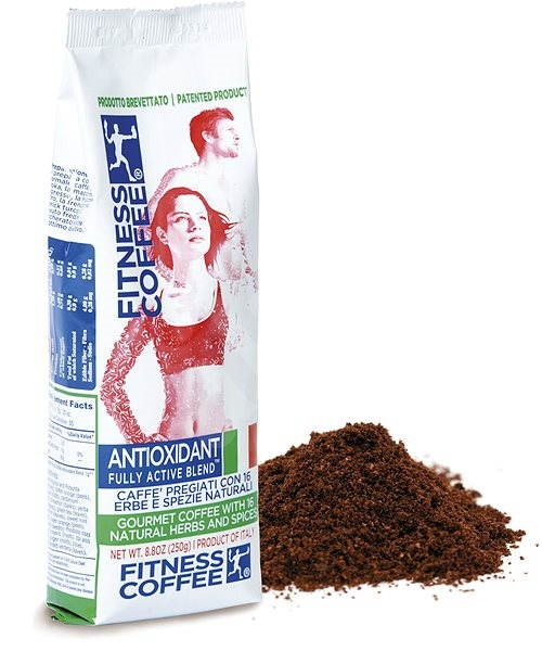 Fitness coffee Antioxidant Fully Active Blend, ground, 250g - Coffee