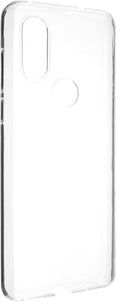 FIXED Skin for Motorola One Vision, 0.6mm, Clear - Mobile Case