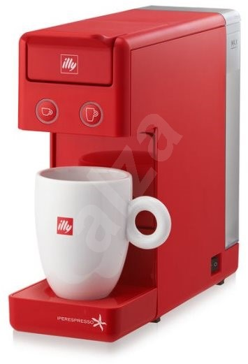 Illy Francis Francis Y3.2 Red iperEspresso - Capsule Coffee Machine ...