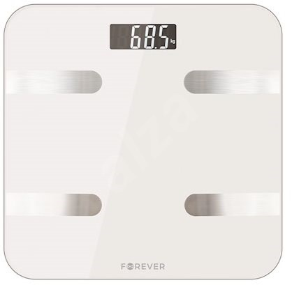 Forever As 100 White Bathroom Scales