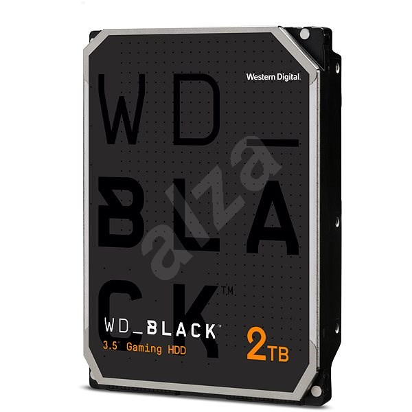 Western Digital Black 2000 GB 64 megabytes cache with Advanced Format - Hard Drive