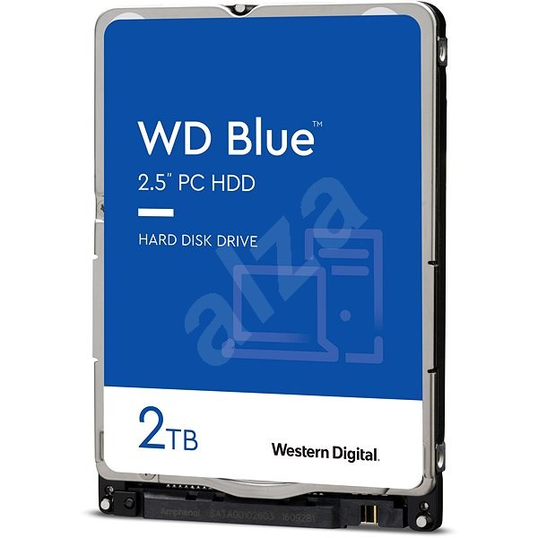 WD Blue Mobile 2TB - Hard Drive
