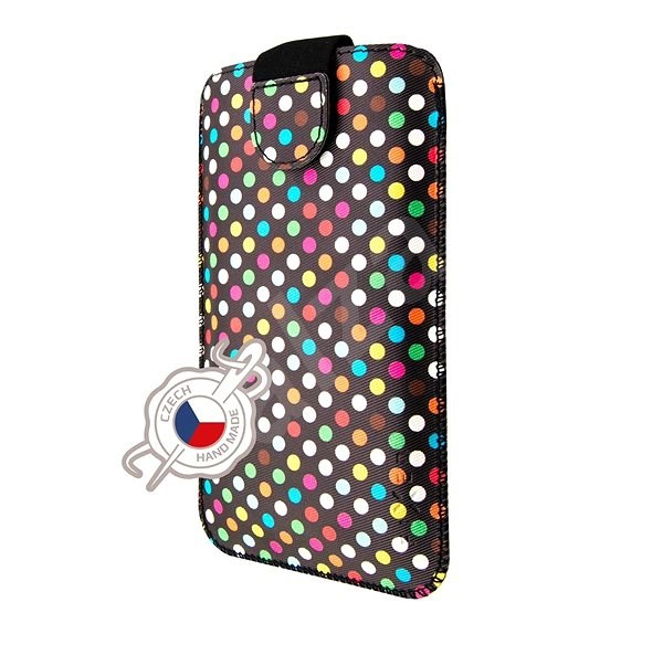 FIXED Soft Slim 5XL+ Rainbow Dots - Mobile Phone Case