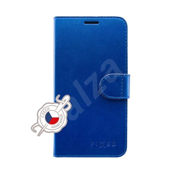 FIXED FIT Shine for Samsung Galaxy A70/A70s Blue - Mobile Phone Case