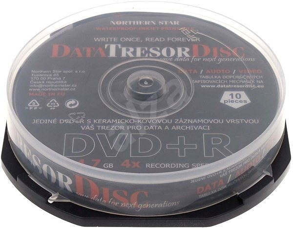 DATA TRESOR DISC DVD+R 10pcs cakebox - Media