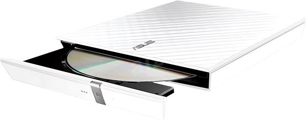 ASUS SDRW-08D2S-U Lite White + Software - External disk drive