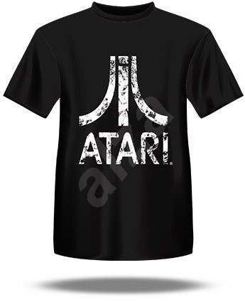 7d42d589f28 Atari T-Shirt - Distressed Logo L - T-Shirt