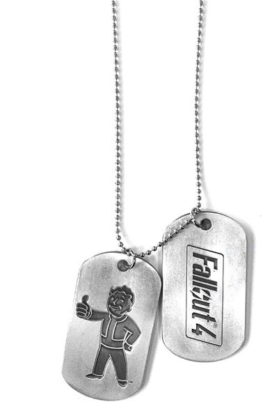 Fallout - Dog Tags - Chain