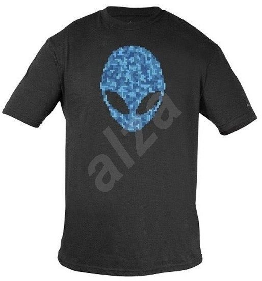 Dell Alienware Alien Ultramodern Puzzle Head Gaming Gear T-Shirt - XXL - T-Shirt
