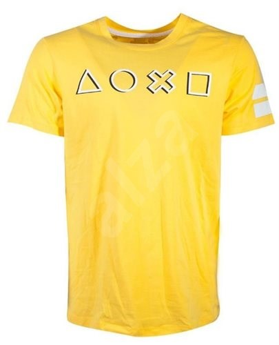 Playstation Logo Yellow - T-Shirt L - T-Shirt