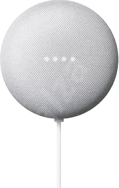 Google Nest Mini 2nd Generation - Chalk - Voice Assistant