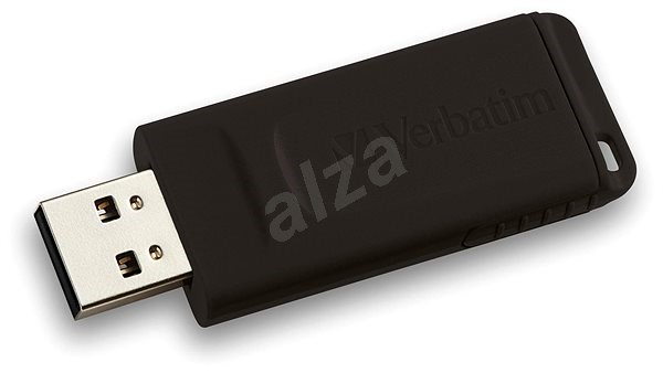 VERBATIM Store 'n' Go Slider 16GB USB 2.0 Black - USB Flash Drive