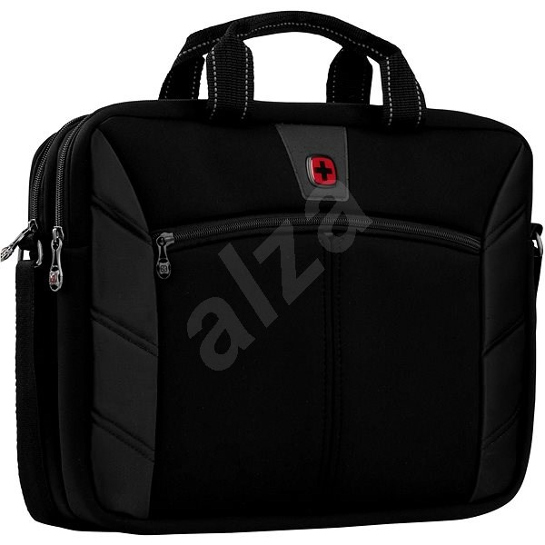 Wenger Sherpa 16 Double Black Laptop Bag
