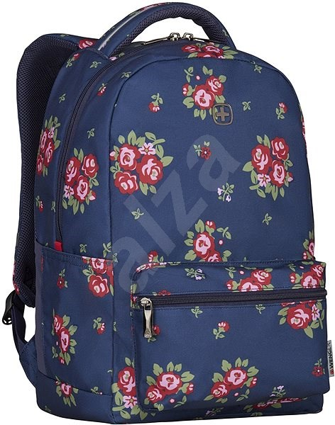 """WENGER COLLEAGUE 16"""", navy floral print - Laptop Backpack"""