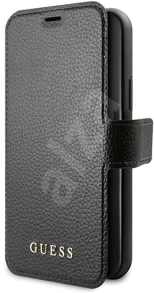 Guess Iridescent for iPhone 11, Black (EU Blister) - Mobile Phone Case