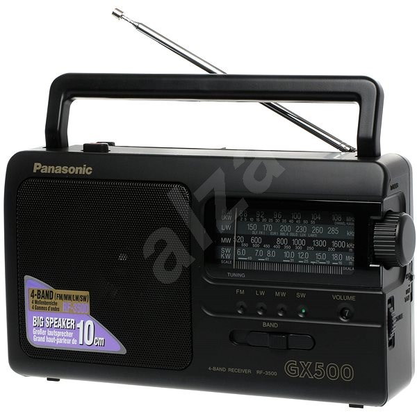 Panasonic RF-3500E9-K black - Radio