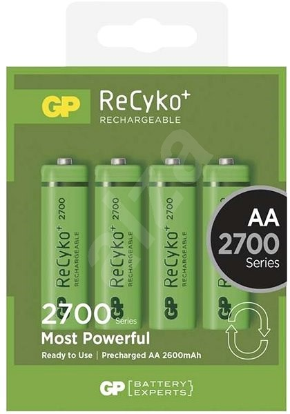 GP ReCyko 2700 (AA) 4ks - Rechargeable battery