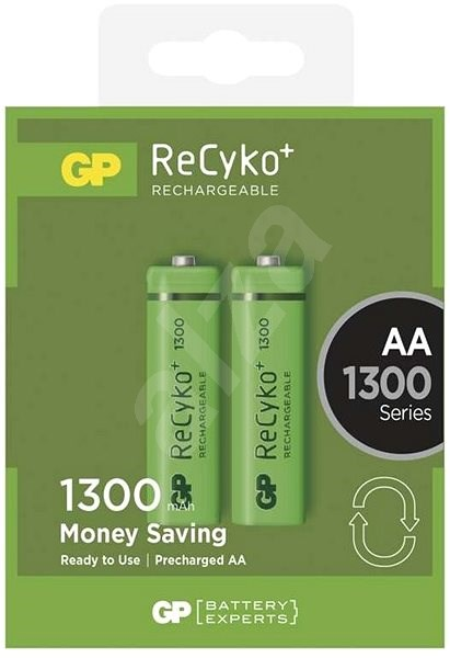 GP ReCyko 1300 (AA) 2 pack - Rechargeable Battery