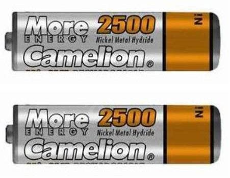 Camelion AA tužkový NiMH 2500mAh 2 pieces - Rechargeable battery