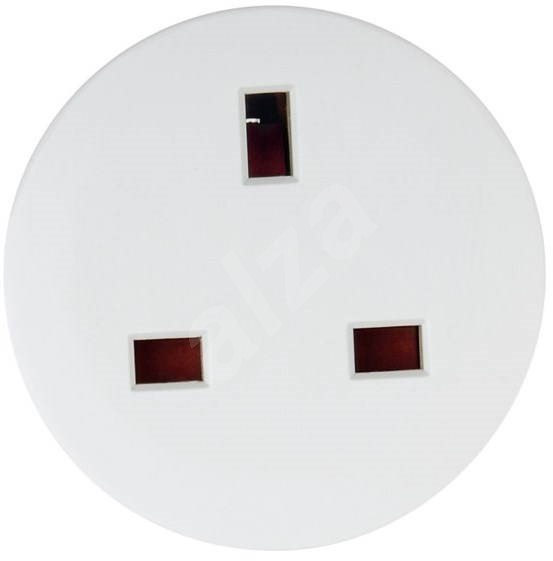 Hama - socket adapter from Britain to the Czech Republic - Travel Power Adapter