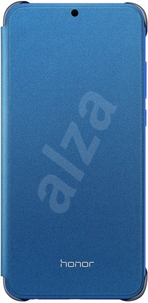 Honor 8X PU Flip Protective Cover Blue - Mobile Phone Case