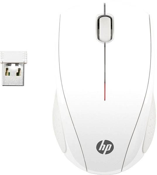 HP Wireless Mouse X3000 Blizzard White - Mouse