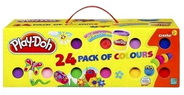 Play-Doh - Case 24 cups of plasticine  - Game set