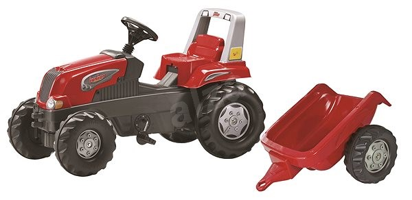 Rolly Toys Kid pedal tractor with trailer - Pedal Tractor