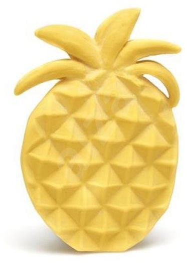Lanco Piece of Pineapple Natural Rubber Teether - Baby Teether