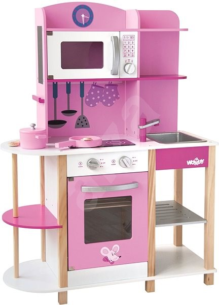 Woody Kitchen Island - Trends - Children's Kitchen Set