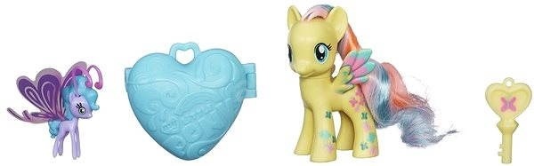 My Little Pony - Pony with a magical keychain and Fluttershy & Sea Breezie accessories - Figure