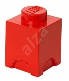LEGO Storage brick 125 x 127 x 180 mm - red - Storage Box