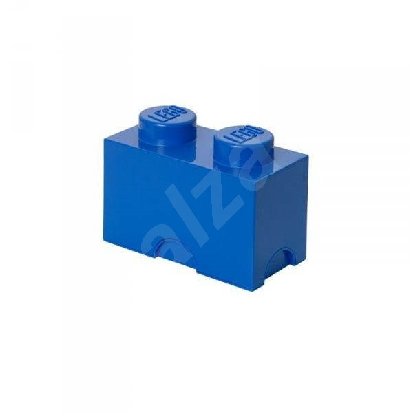 LEGO storage box 125 x 250 x 180mm - blue - Storage Box