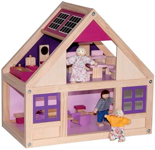Trendy house with accessories  - Doll Accessory
