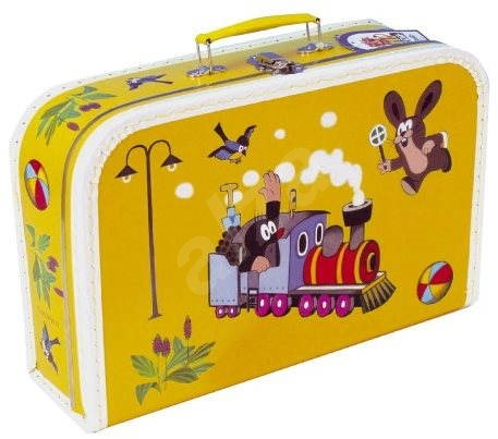 Child's briefcase - Little girl and mouse - Small Carrying Case