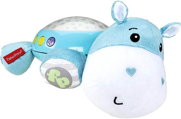 Licht Projector Baby : Fisher price plush hippo wall projector cot toy alzashop.com