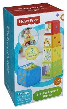 Fisher-Price - Stack and Explore Blocks - Educational toy