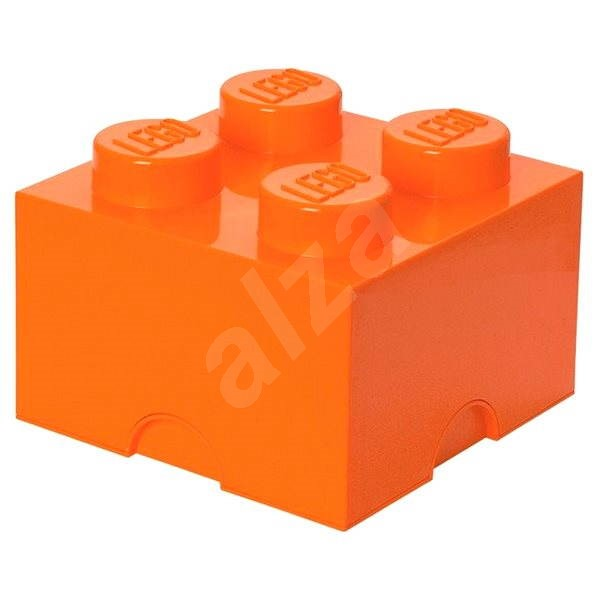 LEGO Storage Box 4250 x 250 x 180mm - Orange - Storage Box