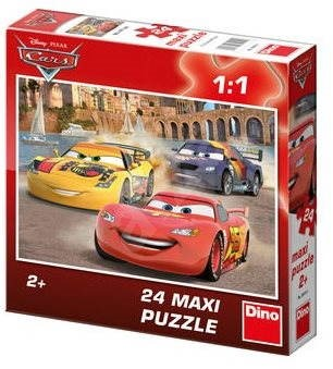 Dino Cars - Lightning McQueen - Puzzle