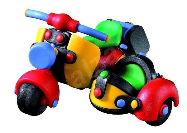 Mic-O-Mic - Motor Scooter with Sidecar - Building Kit