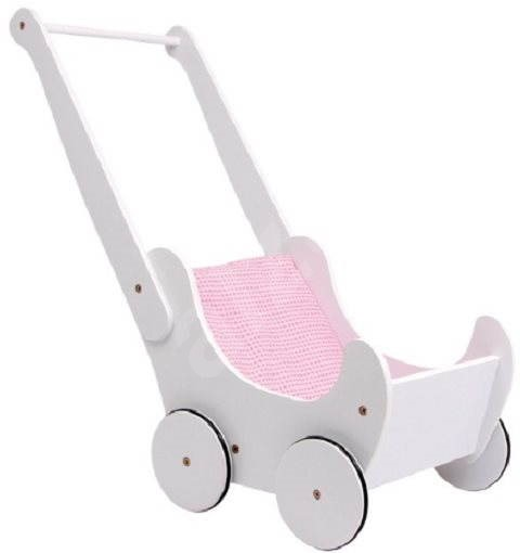 White Pram - Doll Accessories