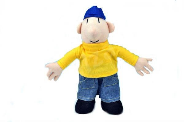 Pat and Mat - Figure of Pat 23cm - Plush Toy