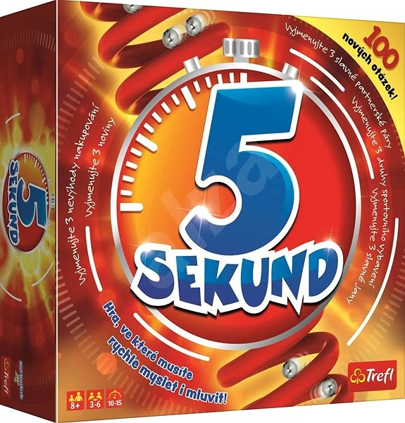 5 Seconds Social Game - Board Game