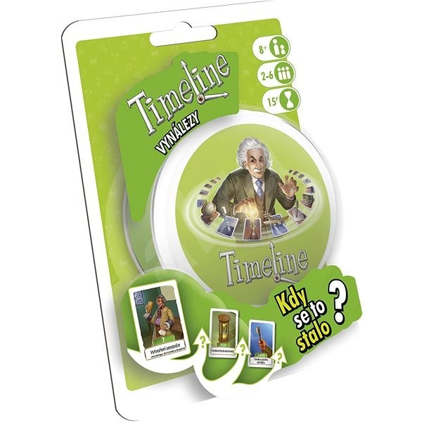 TimeLine - Inventions - Card Game